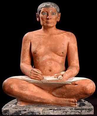 """Résultat de recherche d'images pour """"scribe égyptien"""""""